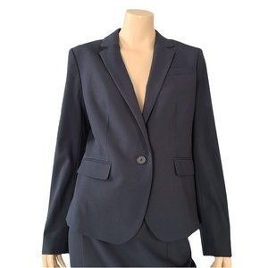 ANN TAYLOR NWT Navy Lined Business Jacket 8